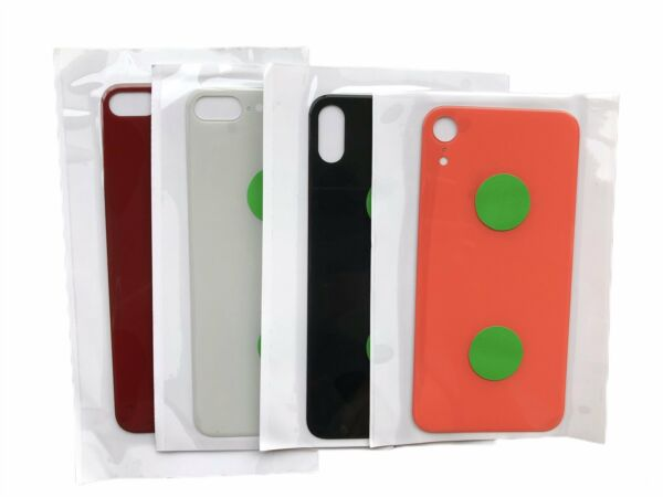 Rear Back Glass Door Cover Replacement For iPhone 8 X XS Max 11 12 Pro Big Hole $9.21