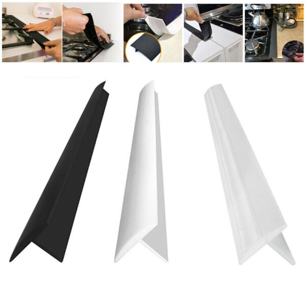 Silicone Kitchen Stove Counter Cover Oven Guard Seal Slit Filler Tool US