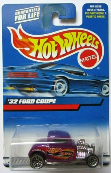 Hot Wheels Purple #x27;32 Ford Coupe #195 2000 ⭐️