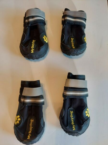 My Busy Dog Dog Boots Size 6 $9.00