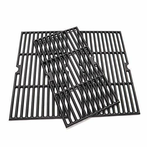 3 Pcs Grill Cast Iron Grates for Charbroil 463436215 G458 0900 W1 16 7 8x9 5 16quot;