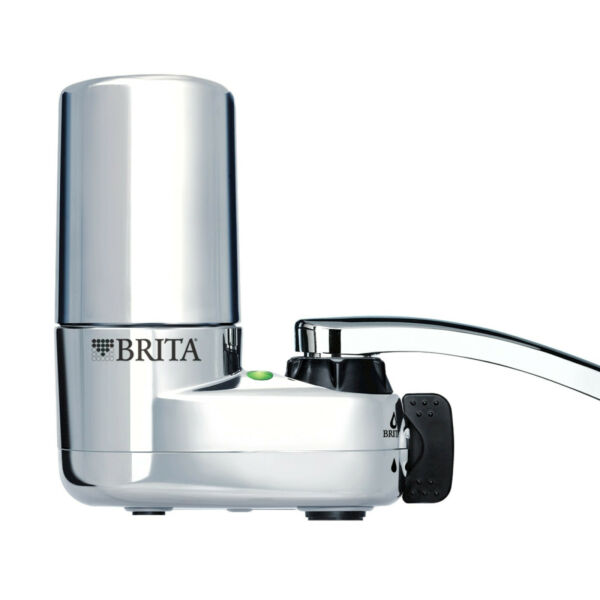 Brita Tap Water Faucet Filtration System Reduces Lead Chrome