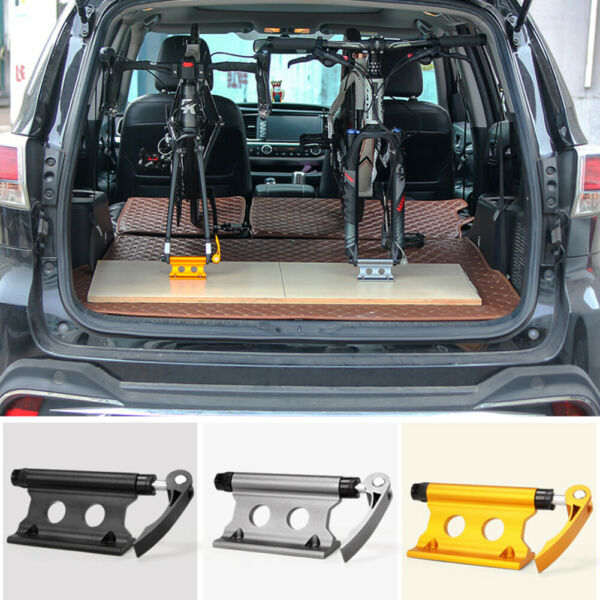 Car Roof Bike Bicycle Mount Carrier Rack Quick release Alloy Fork Lock Aluminum $21.91