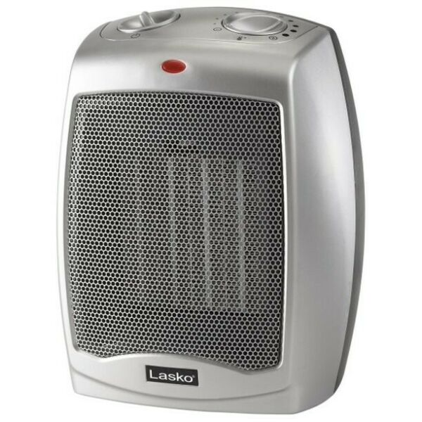 LASKO Portable Electric Heater 1500W Ceramic Space With Adjustable Thermostat $34.99