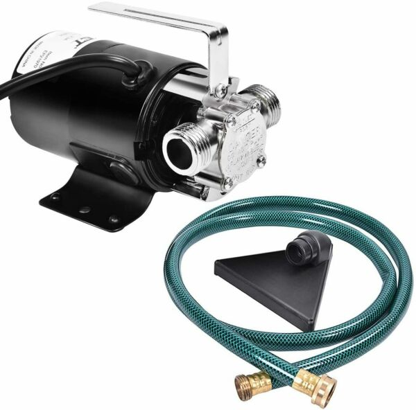 Water Transfer Pump Portable Electric 120V Sump Utility 330GPH With Hose $49.99