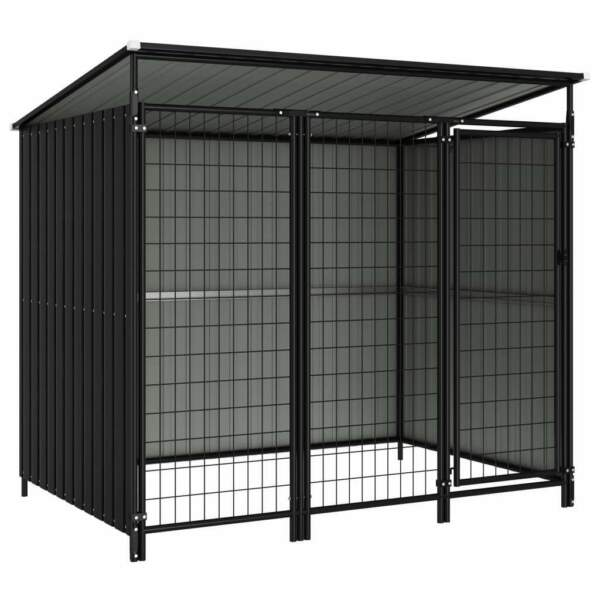 Outdoor Pet Dog Large Animal Kennel Cage 76quot;x52.4quot;x64.6quot; $759.29