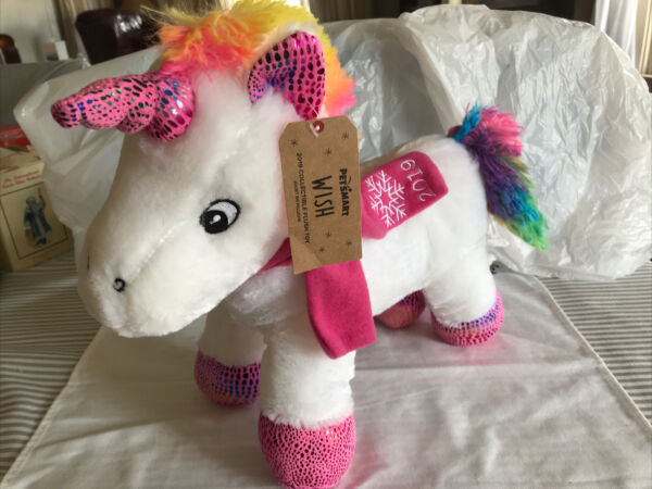 Petsmart Unicorn quot;Wishquot; 2019 Collectible Dog Toy with Squeaker Plush $13.05