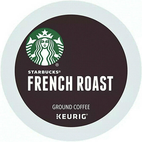 Starbucks French Dark Roast Coffee K Cup Pods 88 Count EXP: 03 2022 NEW