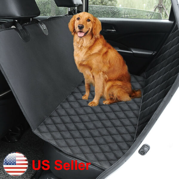 Waterproof Pet Dog Seat Cover Hammock For Car Truck Back Rear Seat Protector Pad $26.98