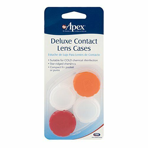 Apex Deluxe Contact Lens Cases 2 Each $15.64