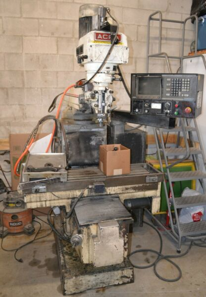 Acra 2 Axis CNC Vertical Mill $6000.00