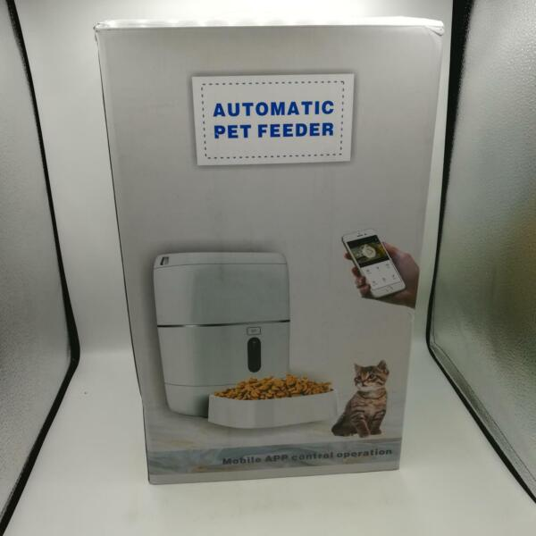 Automatic Dog Cat Feeder 2.4G WiFi Enabled 6L Smart Food Dispenser $52.49