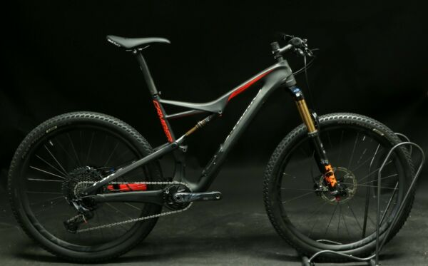 2016 Specialized S WORKS Camber FSR Large 27.5quot; Carbon Bike Custom Fox Demo $6899.99