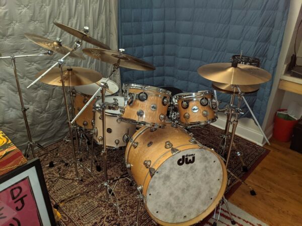 DW Collector#x27;s Series Drum Set Pre Owned Six Months $4900.00