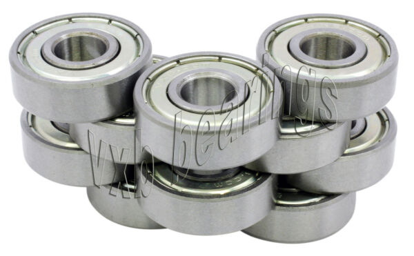 10 Bearing R 1212 Z 1 2quot;x 3 4quot;x 5 32quot;Stainless inch ZZ