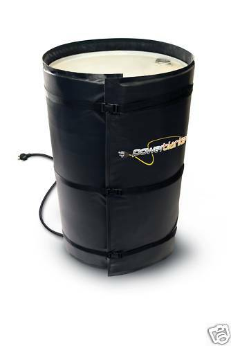 POWERBLANKET BH55-PRO 55 GALLON DRUM HEATER WITH THERMOSTAT SPRAY FOAM RIG TOOL