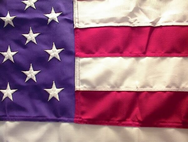 30X60 US AMERICAN FLAG STRONGEST POLY APPLIQUED STARS POLYESTER BEST DURABILITY