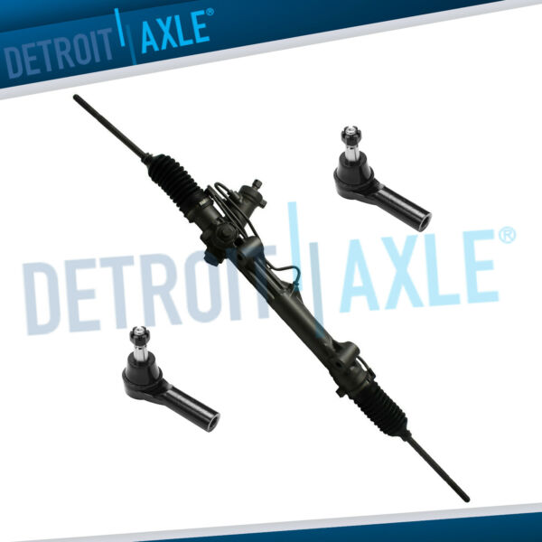Complete Rack and Pinion 2 NEW OUTER TIE RODS for 1996 1997 1998 Taurus Sable $104.49