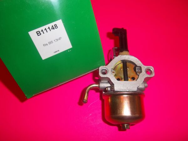 NEW REPLACEMENT BRIGGS CARBURETOR FITS 9 HP THUR 13 HP SINGLE ENGINES 11148 L@@K $69.89