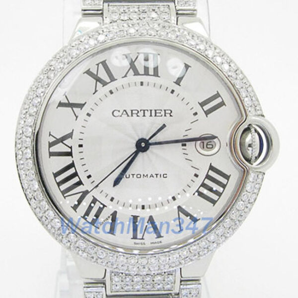 Cartier Ballon Bleu Watch diamond  swiss luxury wrist watch dc2