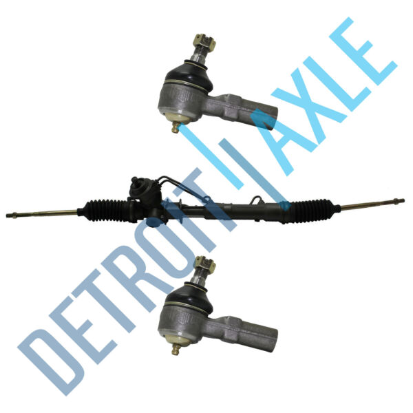 COMPLETE POWER STEERING RACK amp; PINION ASSEMBLY 2 Outer Tie Rod Ends for FORD $103.55