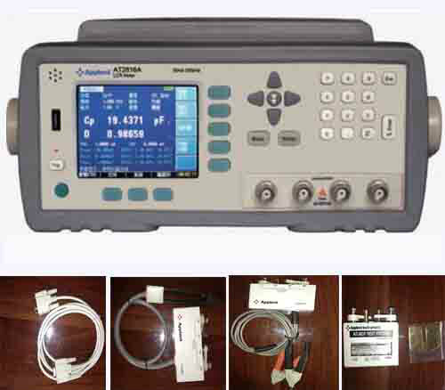 Hot Product AT2816A High Frequency 50Hz-200kHz Digital LCR Meter Tester New