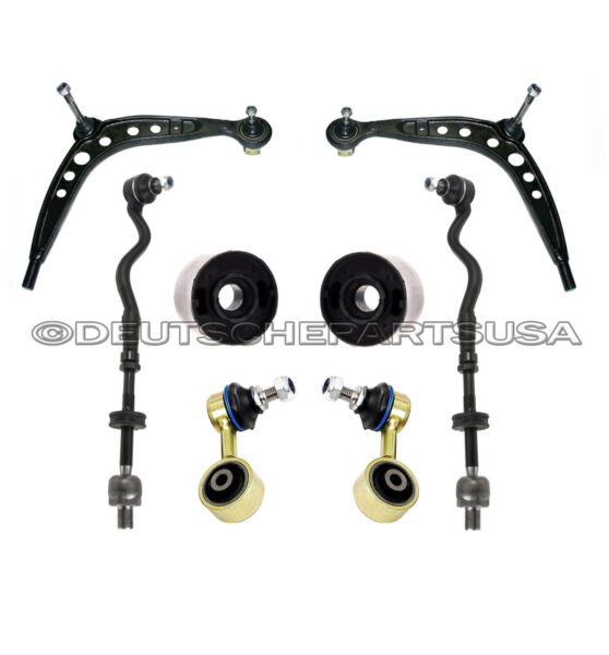 Control Arm Arms Ball Joint Joints Solid Bushings Kit M3 UPGRADE FOR BMW E36 8PC