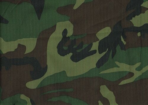 Desiger Fabric Woodland Camouflage Upholstery Drapery Outdoor