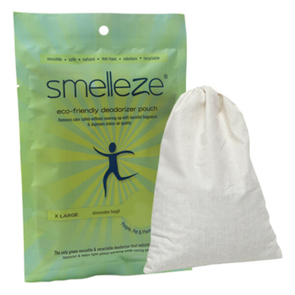 SMELLEZE Reusable Dog Smell Removal Deodorizer: Rid Pet Odor Out in 150 Sq. Ft. $19.99