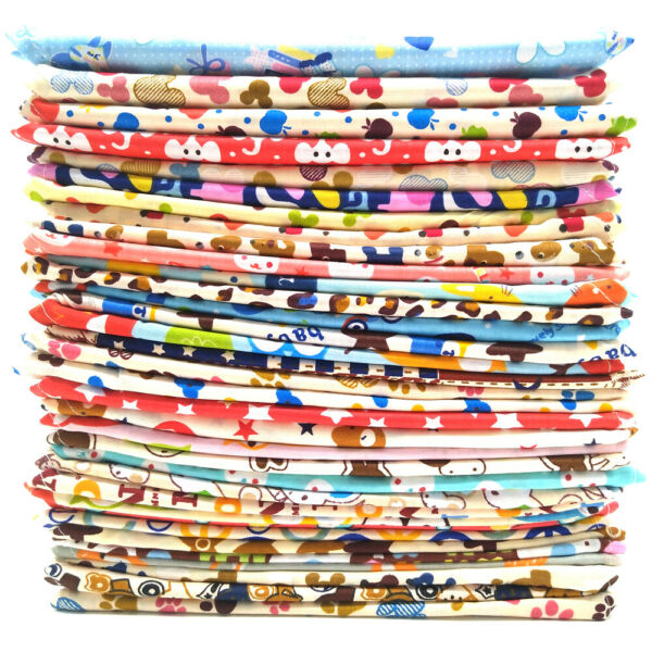Wholesale Mixed Patterms Pet Dog Cat Bandana Adjustable Cotton Scarf