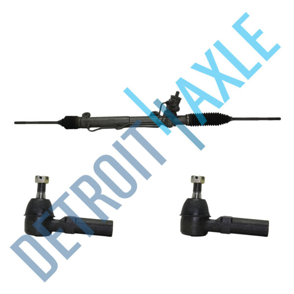 Complete Power Steering Rack and Pinion 2 New Outer Tie Rods W F41 SUSPENSION $179.99