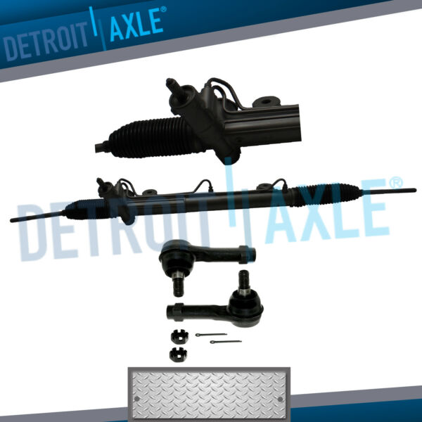 Complete Rack and Pinion 2 NEW Outer Tie Rod Ends for Ford Lincoln 2WD 2x4 $199.40