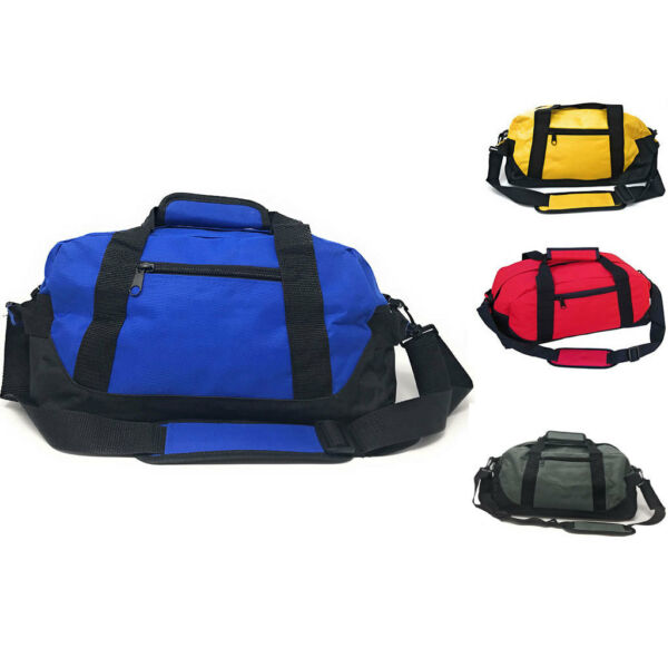 Duffle Bags 18quot; Travel Sports School Gym Carry On Luggage Shoulder Strap