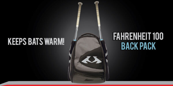 Barrel Max Bat Warmer BACKPACK for RAWLINGS TRIO VELO 5150 -3 SENIOR YOUTH BATS