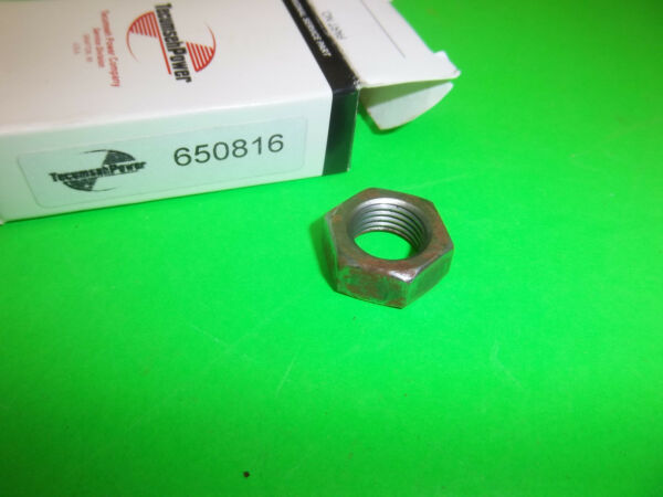 NEW TECUMSEH FLYWHEEL NUT FITS SNOW BLOWER TILLERS MOWERS 650816 OEM
