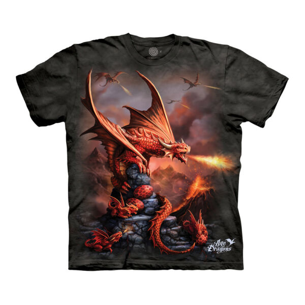 The Mountain Fire Dragon Adult Unisex T Shirt $19.95
