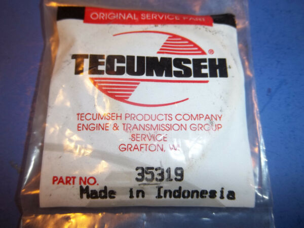 NEW TECUMSEH OIL SEAL FITS SNOW BLOWERS TILLERS 35319 OEM FREE SHIPPING