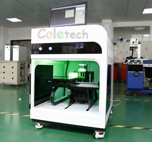 High-Frequency 3D  Laser Inside Carving Machine High Speed Model with PC