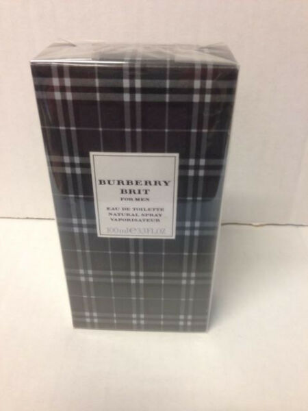 Burberry Brit * by BURBERRY * Cologne for Men * 3.3 oz * EDT * 100ml NIB Sealed $49.49