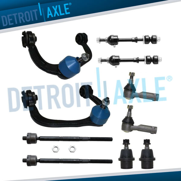 New 10pc Complete Front Suspension Kit for Ford F-150 2WD Mark LT 2005-2008