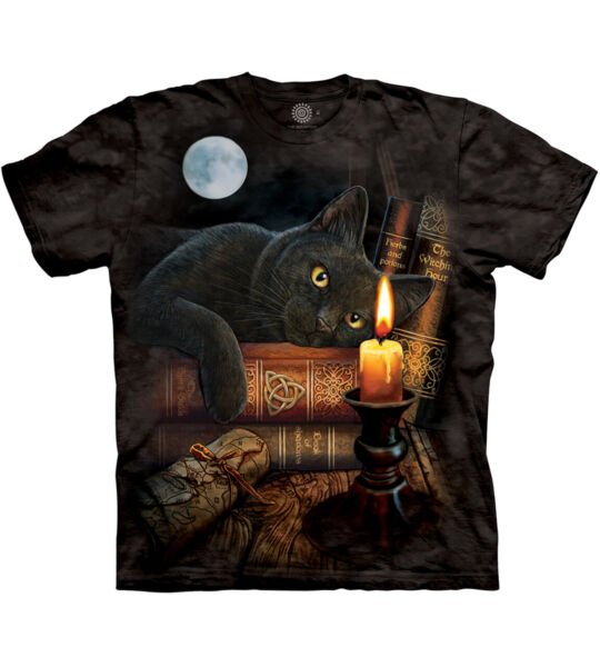 The Mountain Witching Hour Cat Adult Unisex T Shirt $17.95