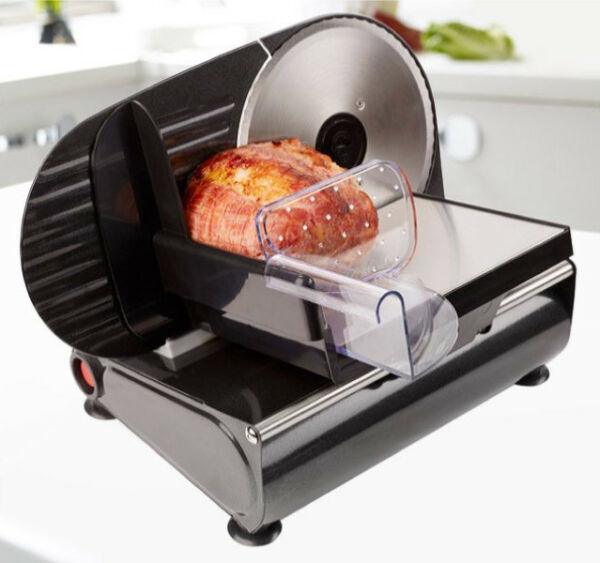 Food Slicer Bread Meat Cheese Vegetables Adjustable Thick Thin Slicing Slices