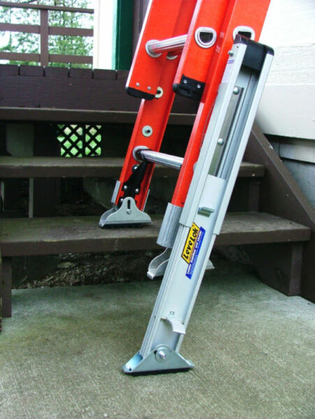 Levelok LL-STB-2QC - Extension Ladder Leg Levelers System - Quick Connect