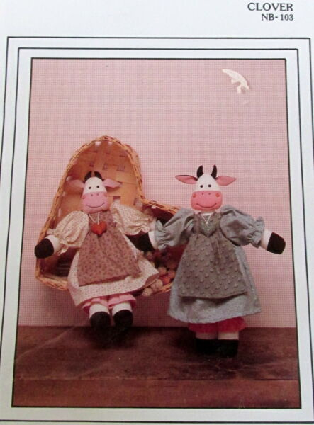 Cornell Collection Craft PATTERN farm COW DOLL 13