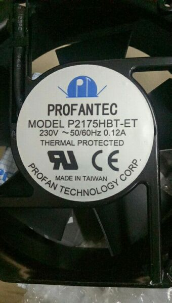 Original  profantec  Frequency converter fan P2175HBT-ET 3 months warranty