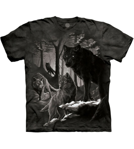The Mountain Dire Winter Wolf Wolves Adult Unisex T Shirt $19.70
