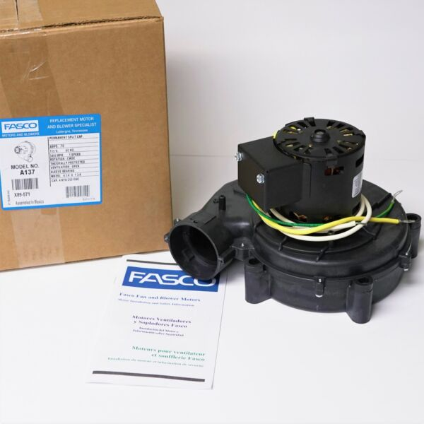 Fasco A137 Furnace Draft Inducer Motor for York 024-25007-000 024-25057-000