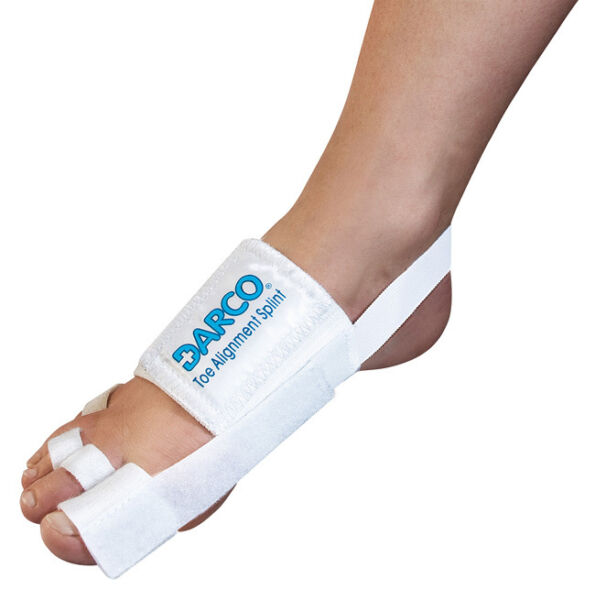 Darco Toe Alignment Splint for Hallux Valgus Hammer Toe Tailor?s Bunion TAS