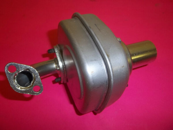 NEW BRIGGS & STRATTON MUFFLER FITS SNOW BLOWERS  GO CARTS  TILLERS 699565 OEM