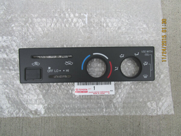 97 01 TOYOTA 4RUNNER BASE SR5 HEATER CLIMATE CONTROL FACE PLATE BEZEL TRIM NEW $69.54